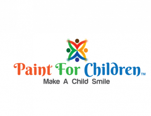 Giving Children Artwork To Smile About