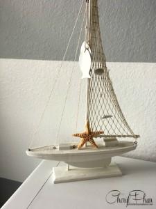 Nautical Bedroom | Cheryl Phan