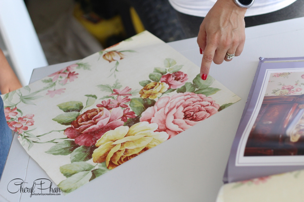 Painted Garden Girls Bedroom Ideas | Cheryl Phan