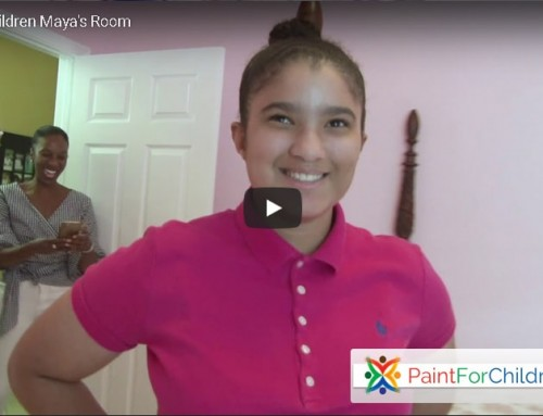 Maya's Room Project – PaintforChildren.org
